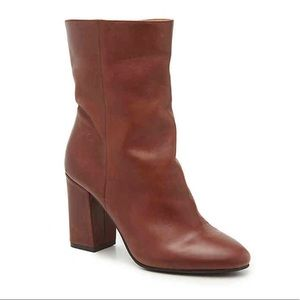 New Lucky Brand Women's Walwyn Bootie Brown